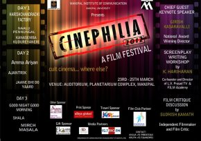 CINEPHILIA-A Day with Sudhish Kamath and Movies