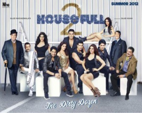 Housefull is full…..of nothing