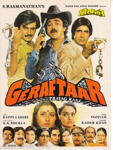 Geraftaar Poster