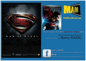 Win Free DVD's of Man of Steel