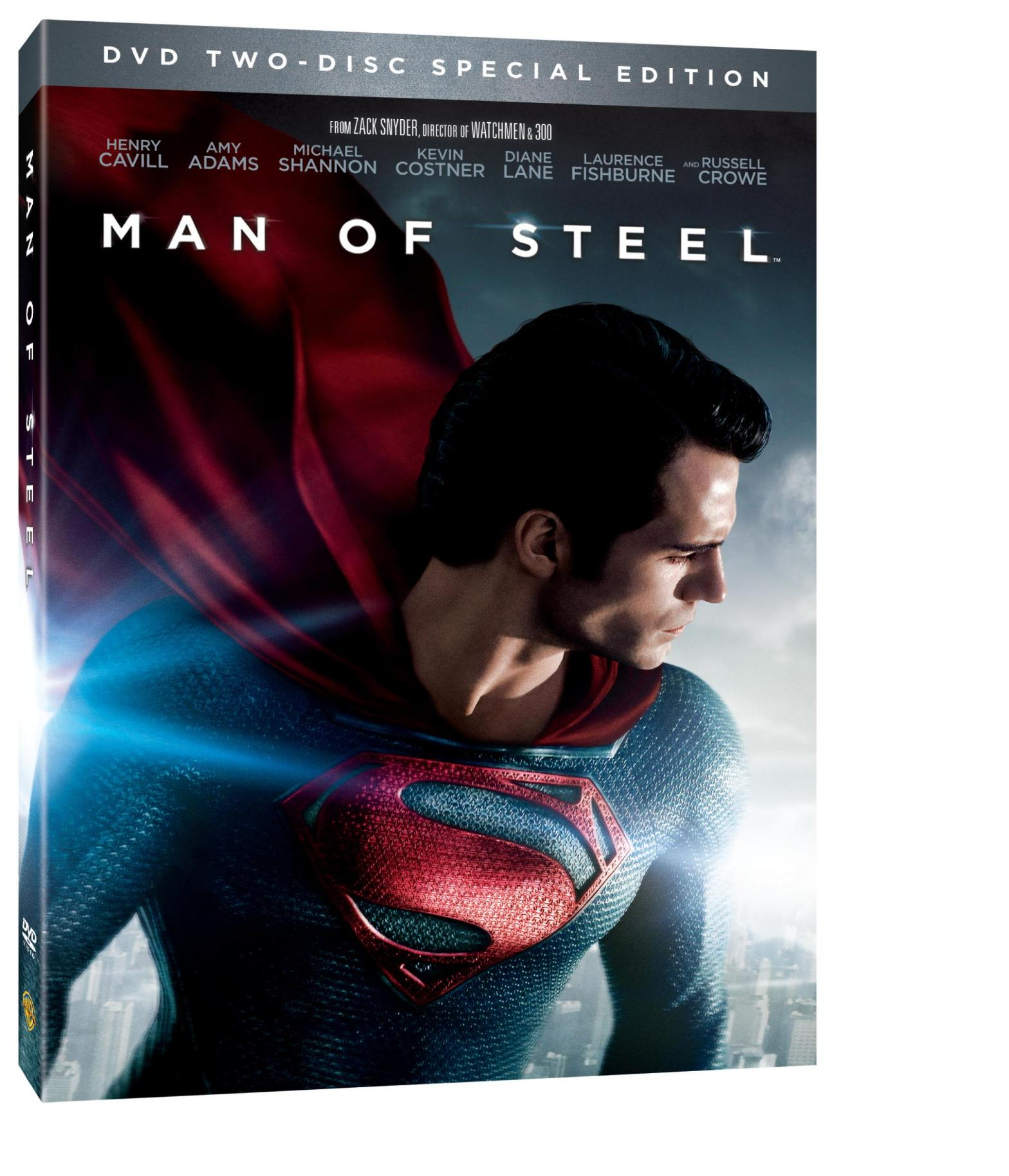 Man of Steel DVD Review