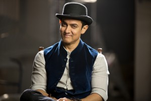 Aamir Khan in Dhoom 3 with his hat
