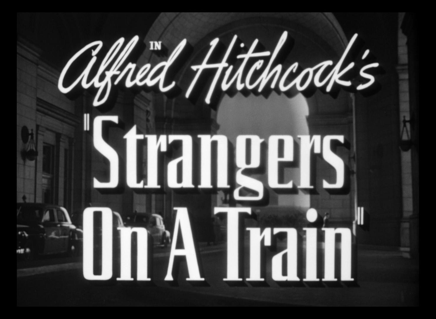 Essays on strangers on a train