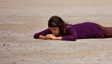Alia Bhatt shooting for Highway in Sambhar(Rajasthan) salt pans- 18.03.2013