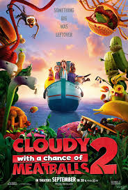 Cloudy 2 Poster