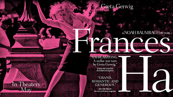 Frances Ha Cinemausher's Best film of 2013