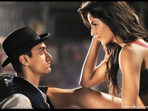 Katrina Stripping for Aamir Khan