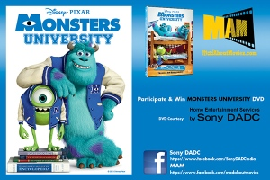 Monsters University Banner for MAM