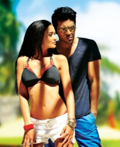 Amy Jackson's only bright spot in the movie :)
