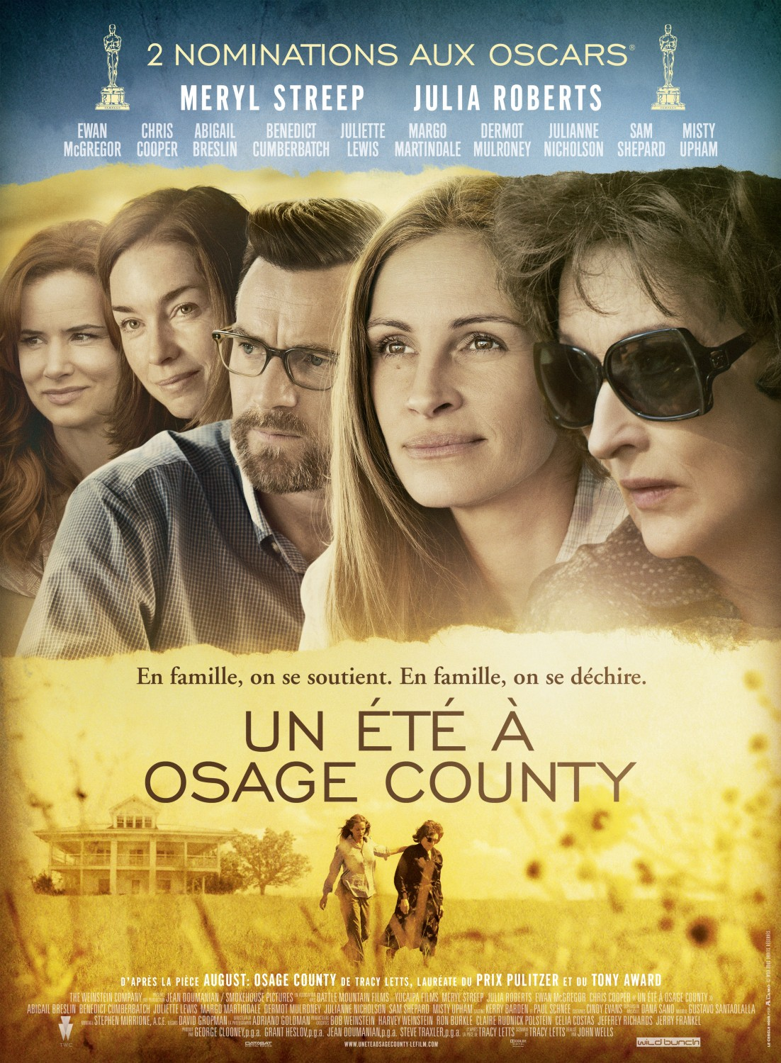 """august osage county review August: osage county"""" by oklahoma-born playwright/screenwriter/actor tracy  letts finally has made it to mchenry county."""