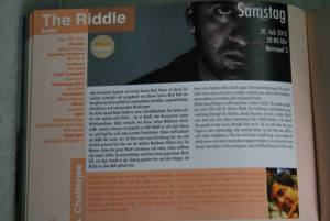About the film in the Coffee Table Book at Stuttgart