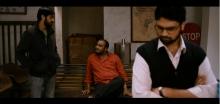 Hardik Sha, Sameer Kevin Roy and Siddhanth Sundar in the waiting room