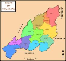 Nagaland Map