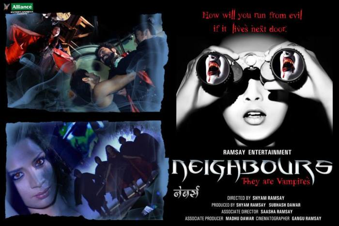 Neighbours they are vampires