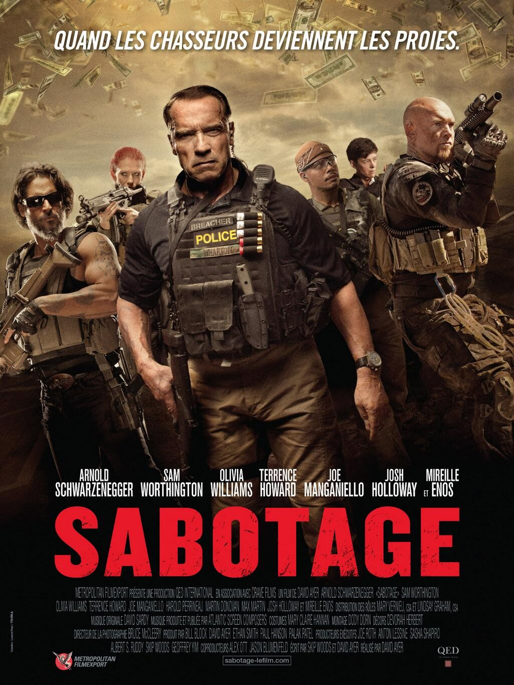 sabotage 2014 movie review an old style actioner in a new for someone like me who watches multiple films every week it s not often that i myself in a situation where i am more or less clueless about a movie