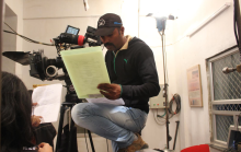 DOP Venky shooting Station