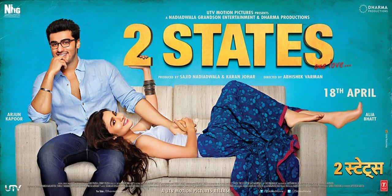 chetan bhagat's 2 states movie review
