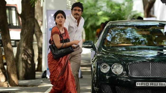 Manam-Nag and Shriya