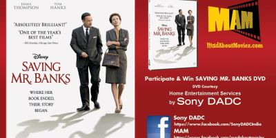 Win Free DVD's of Oscar Nominated Saving Mr, Banks