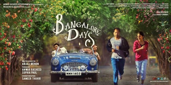 Bangalore Days Poster New