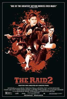 The Raid 2 Poster