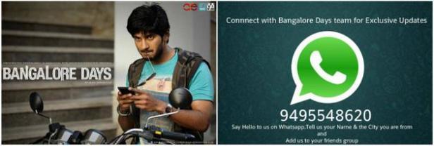 Bangalore Days-Whatsapp Promotion