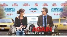 Begin Again Poster 2