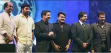 Kamal with Rajini,Mammootty,Mohanlal,Venkatesh