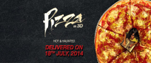 Pizza 3D Poster