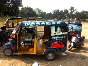 Vathikuchi- Effective ampaign on auto rickshaws