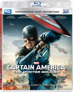 Captain America 3D BD