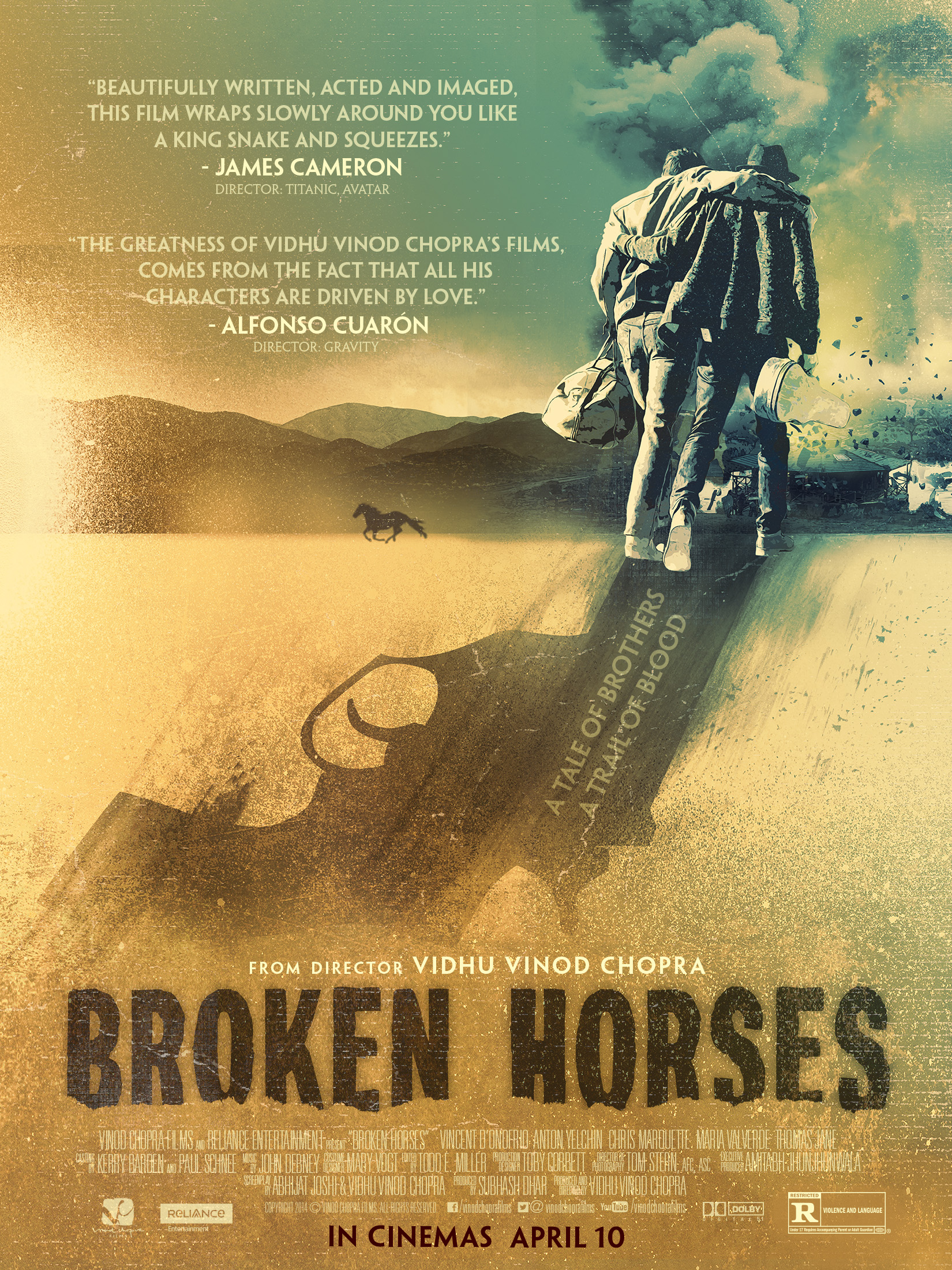 broken horses a quick review mad about moviez broken horses poster