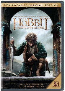 The Hobbit The Battle Of Five Armies DVD