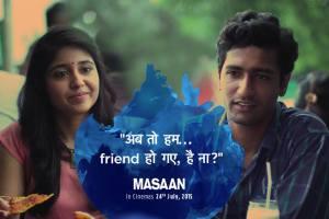 Masaan Dialogue Poster