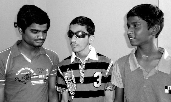 Anant, Darpan and Sai !