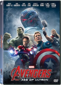 Avengers AOU DVD