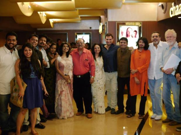 The TPOZ Team at the Mumbai Premiere !