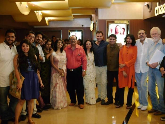 The TPOZ Team at the Mumbai Premiere !