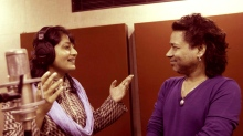 Filmmaker-composer Fauzia Arshi with singer Kailash Kher. - Pic 1