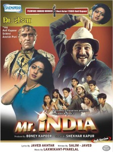 Mr.India DVD Cover