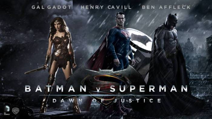 Batman v Superman Poster 2