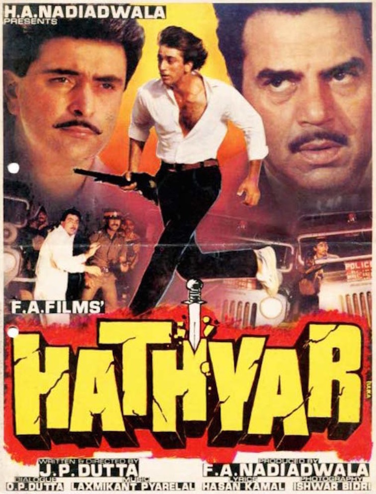 hathyar 1989 hindi movie j p dutta s underrated tale of crime and