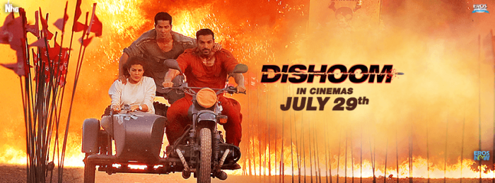 Dishoom Poster 3