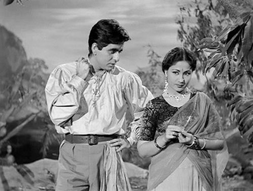 dilip-kumar-and-meena-kumari-in-azaad